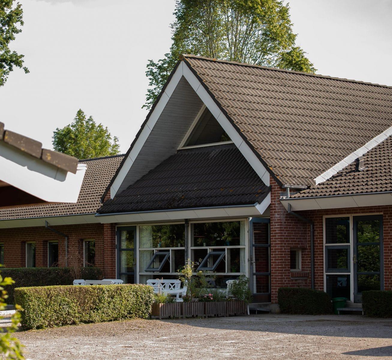 Husene på Bogø Kostskole