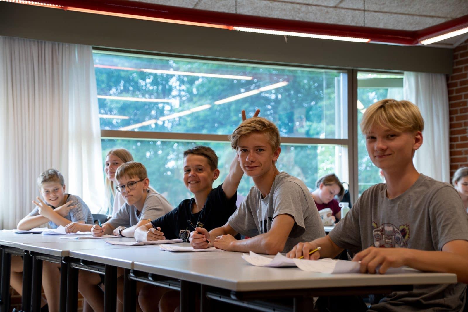 Skolegang på Bogø Kostskole