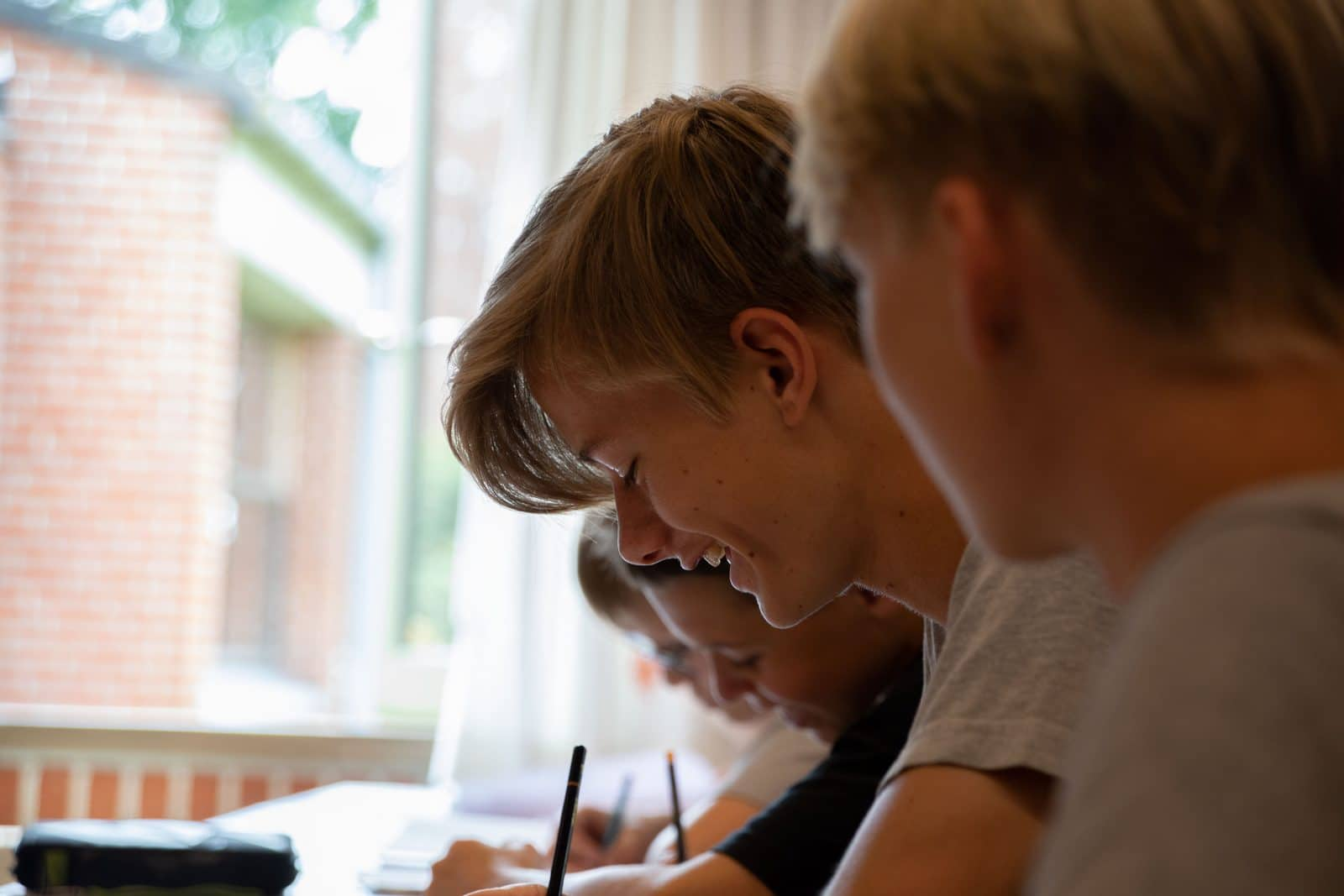Undervisning på Bogø Kostskole