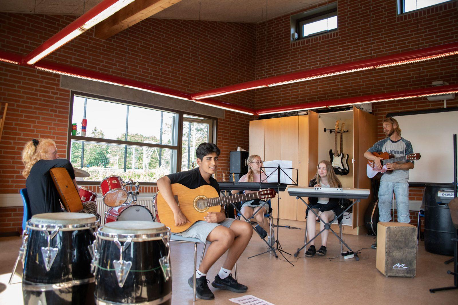 Musikundervisning Bogø Kostskole