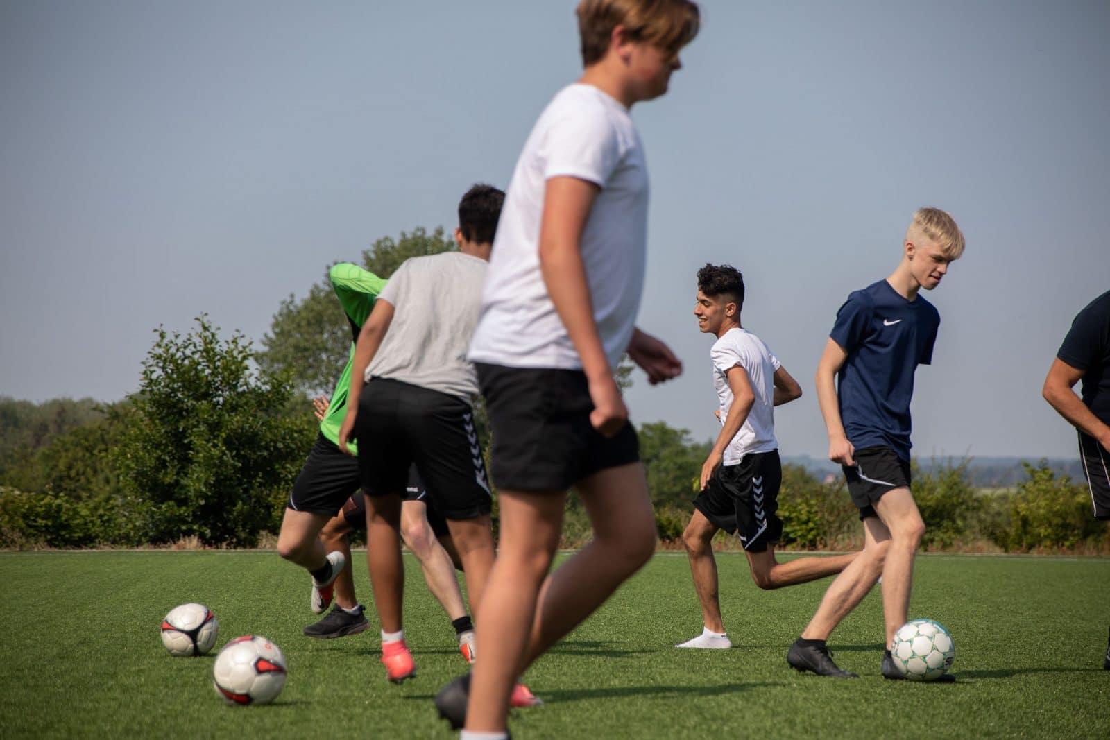 Fritidsaktiviteter - Fodbold