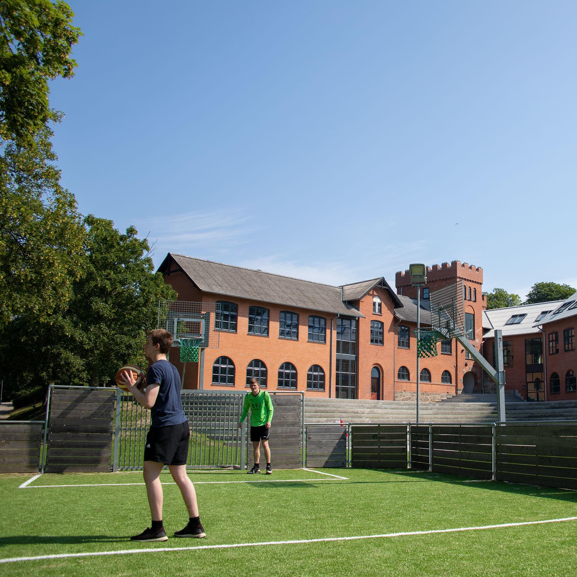 Fritid på Bogø Kostskole