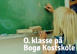0. klasse på Bogø Kostskole